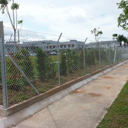 Galvanized Chain Link Fence(n)